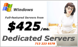 Linux and Windows Dedicated Servers
